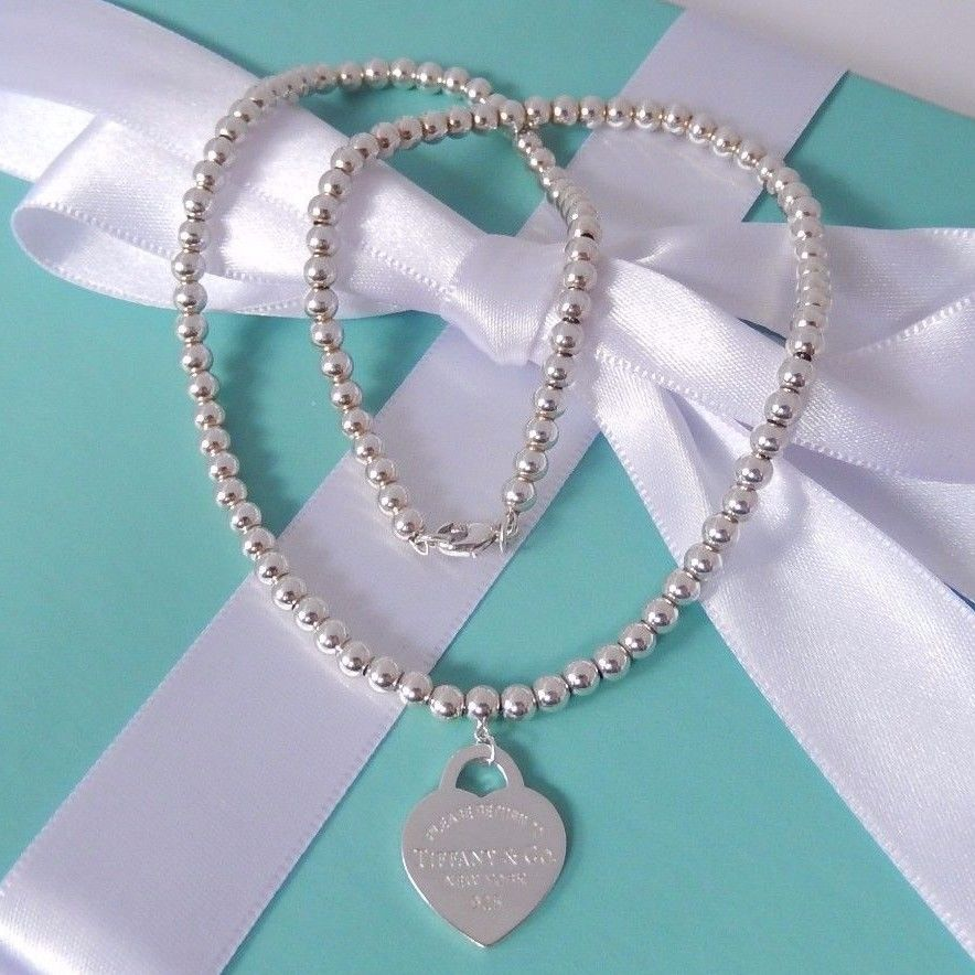 96b2a3f87 Tiffany & Co. Silver Return to Heart Pendant Charm 16