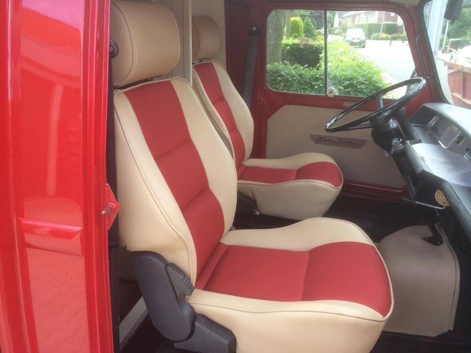 Renault Estafette Conversion To Camper Van Upholstery By Stoffeerderij Arno De Rooij
