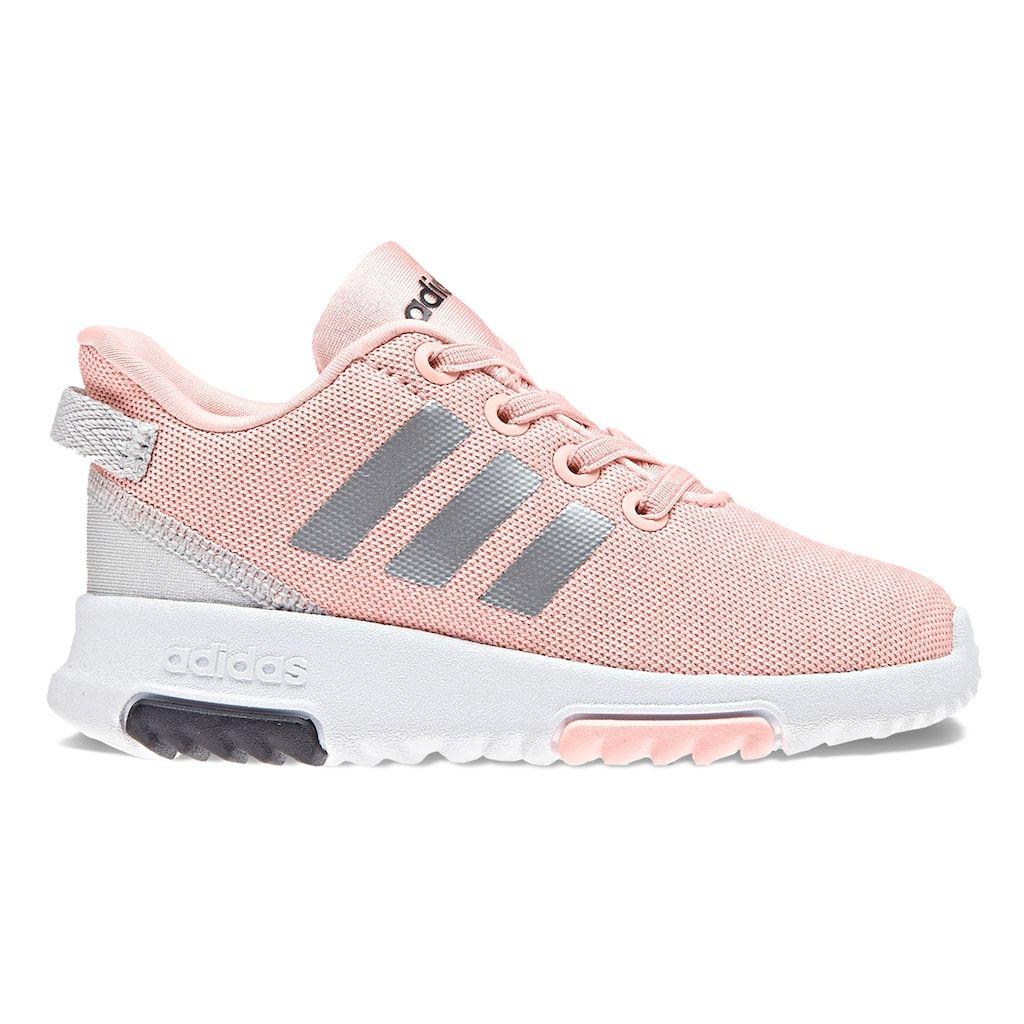 adidas NEO Cloudfoam Racer Toddler Girls  Sneakers  da11079b5