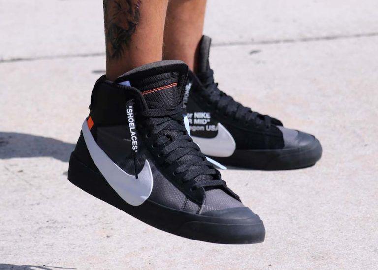 2cdf97f736da5 Off-White Nike Blazer Mid Grim Reaper AA3832-001 Release Date - SBD ...