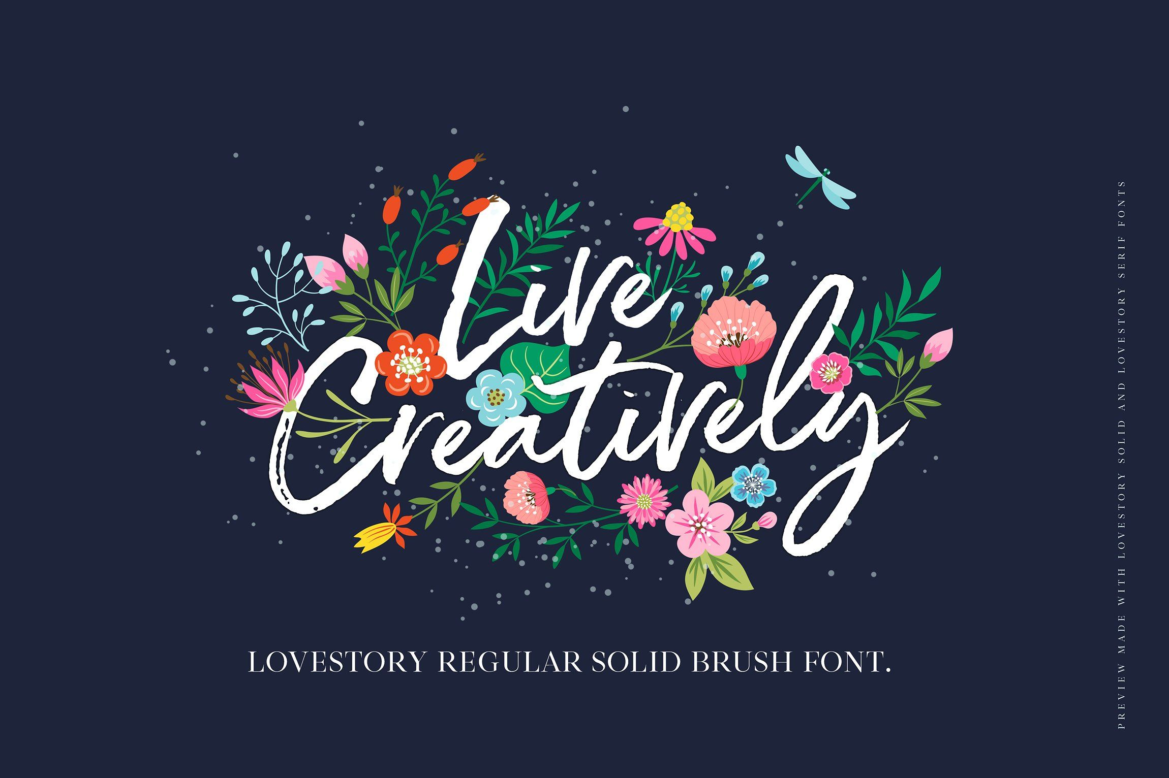 The Lovestory Font Collection By Nicky Laatz On Creativemarket