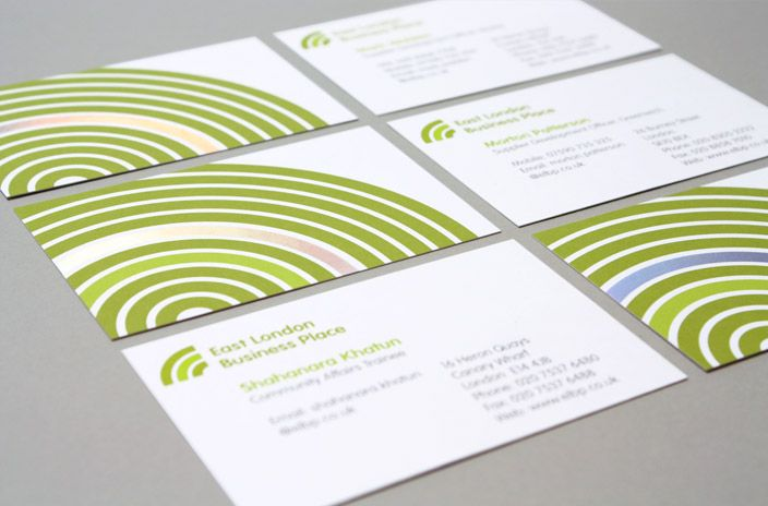 Business cards for east london business place with iridescent foil business cards for east london business place with iridescent foil reheart Images