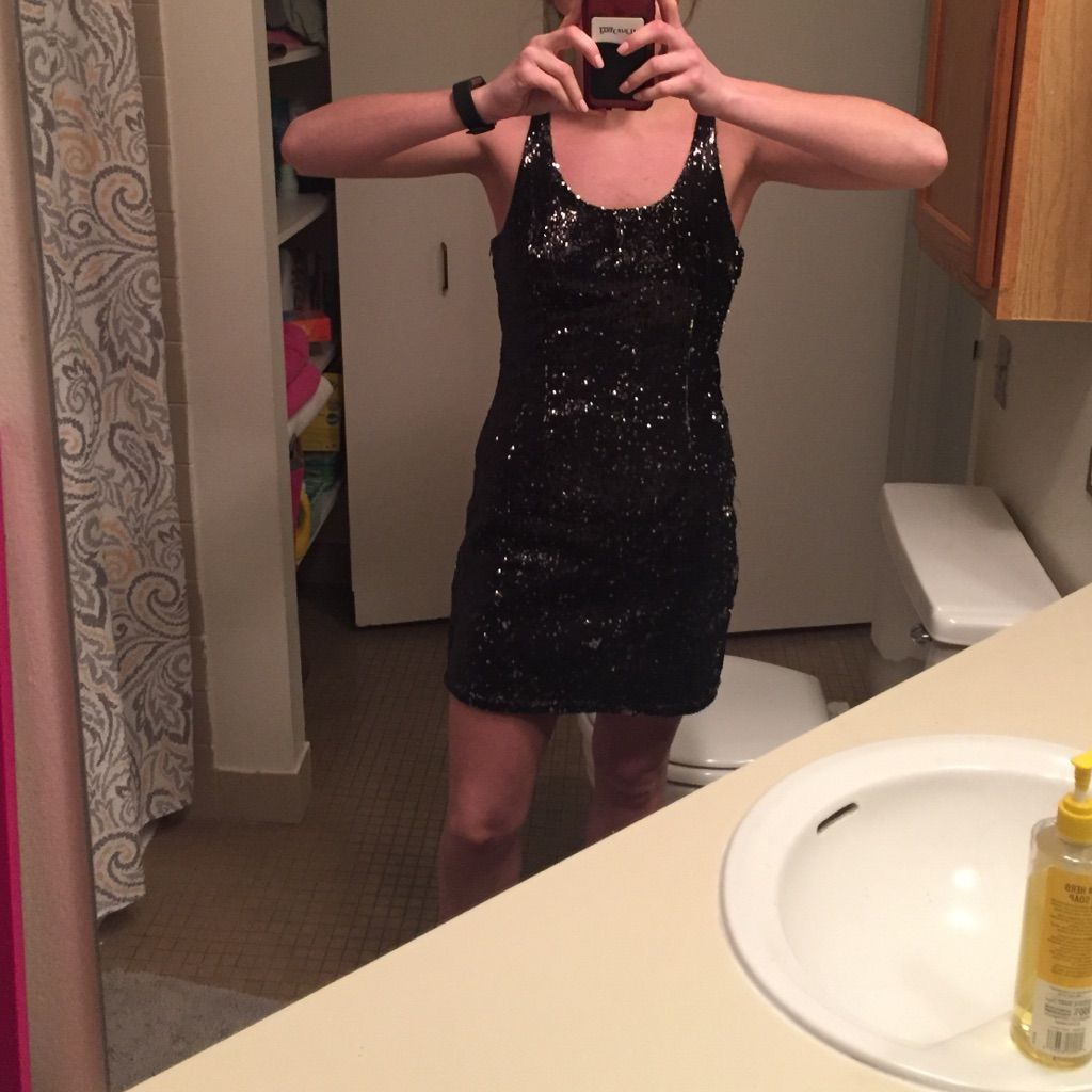 Urban outfitters black sequin dress black sequin dress and products