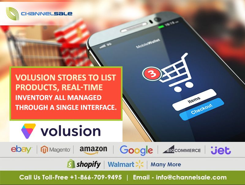 Volusion is an platform offering solid