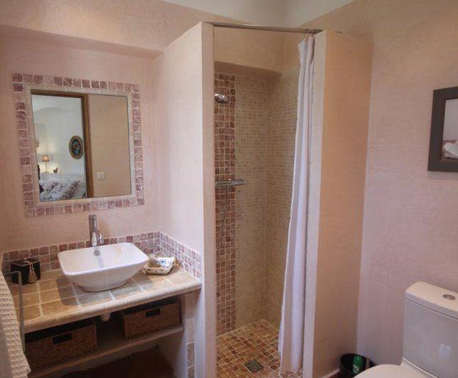 Photo Deco : Wc et sanitaire Blanc Campagne Maison de campagne Sud ...