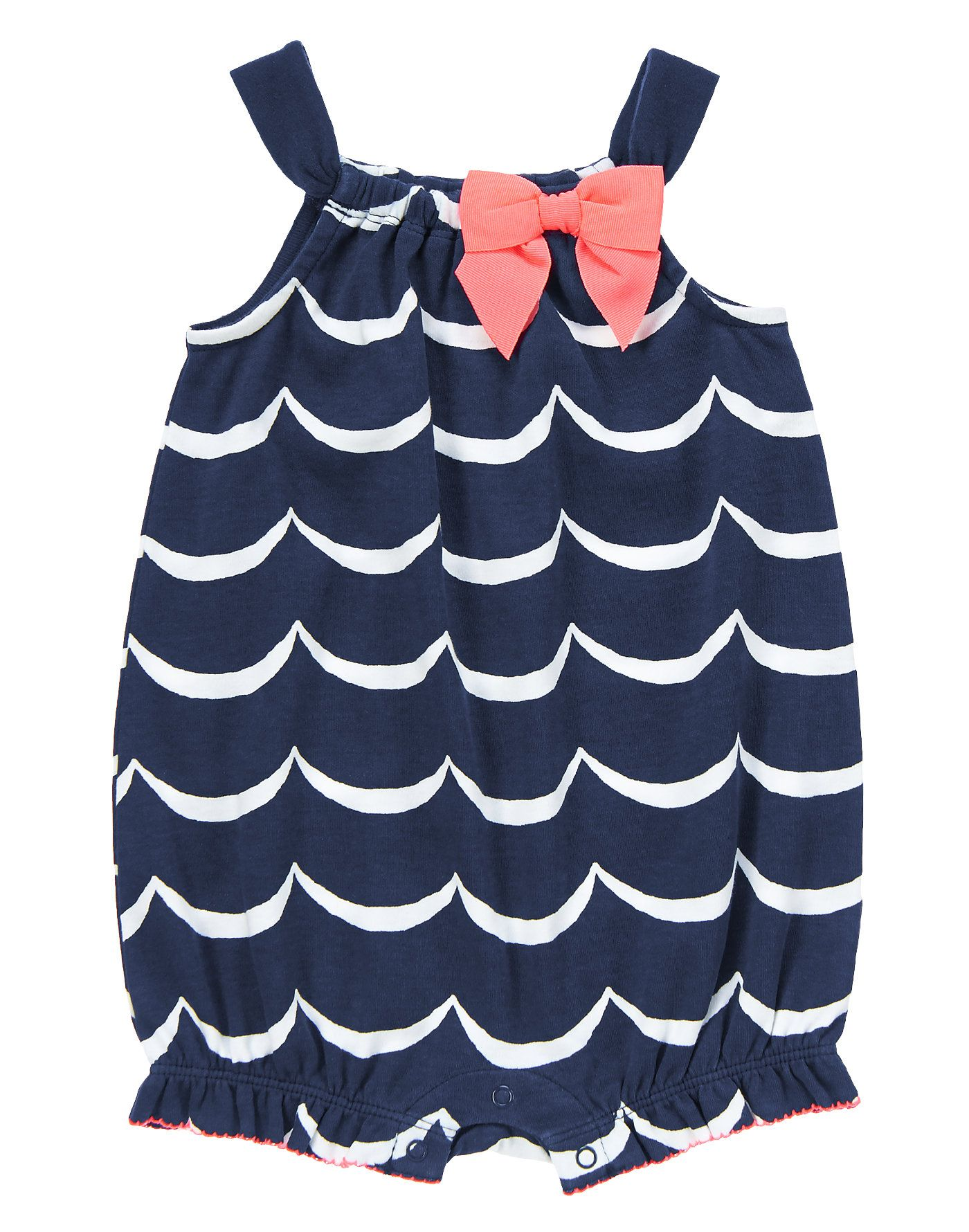 cfed523b8b46 Wavy Bow Bubble at Gymboree -- can you say ador-able!!!