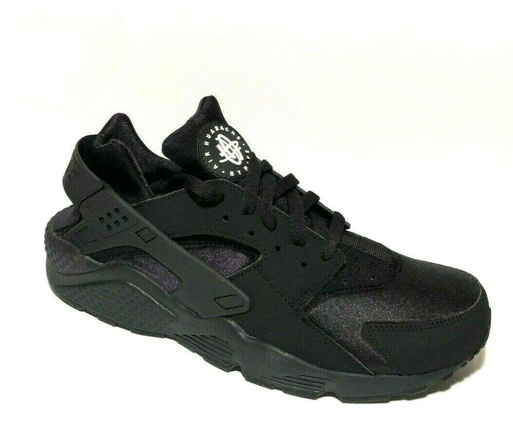 Nike Air Huarache Running Shoes Mens 11 Black 318429-003 ...