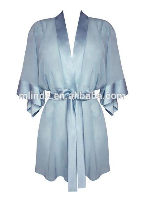 60eedecd4b6 Source Fashion Sexy Womens Chinese Silk Robe OEM Service Silk Satin Front  Open New Robes For Night Sleep Bath Spa Wear on m.alibaba.com