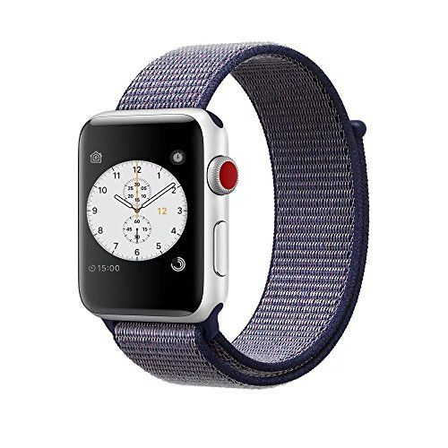 Smart Watch Band Midnight Blue Sport Loop, Uitee Newest W
