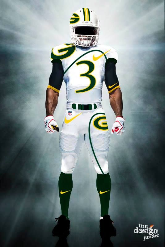 All 32 NFL Team s Uniforms Were Redesigned by Mr. Design Junkie and They  Look        cbd6ee9e5
