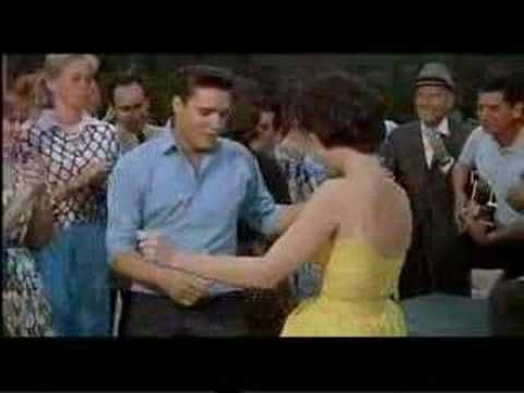 Elvis Presley - I got lucky  Check out where his eyes keep