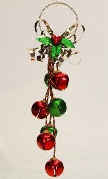 Bell Decor Door Hanging Jingle Bell Decorations  Google Search  Holidays