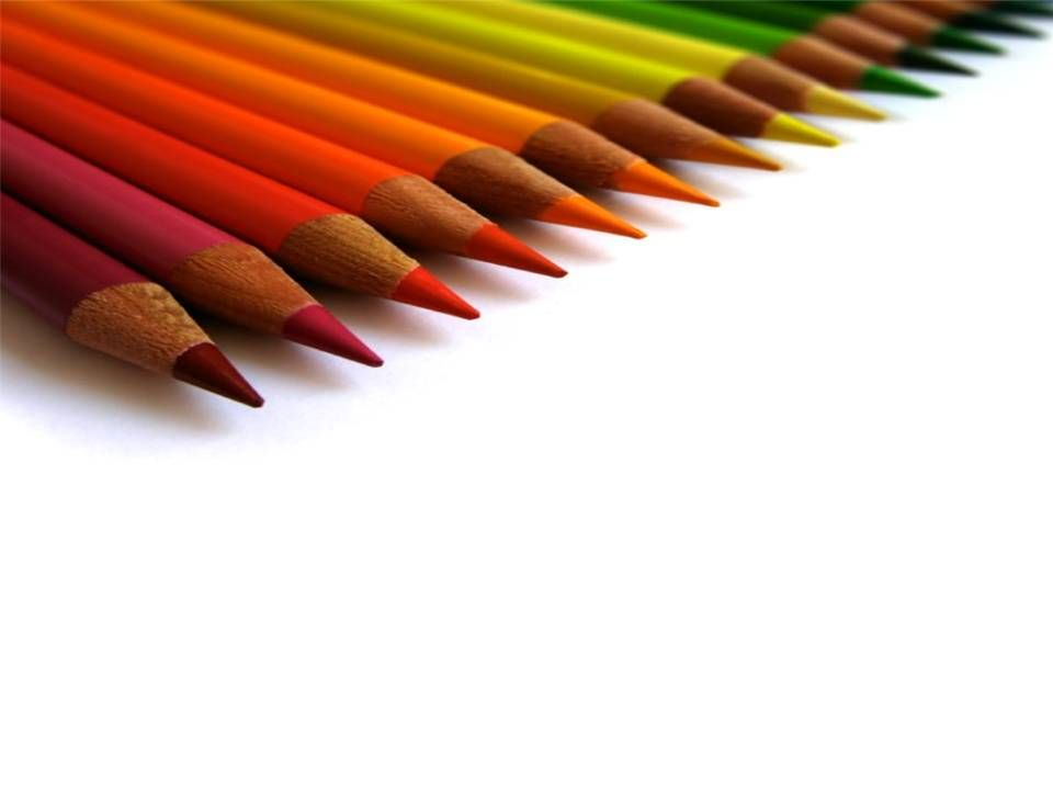 Colored pencil for education slide from pptbackgrounds tips to make your art project exciting toneelgroepblik Images