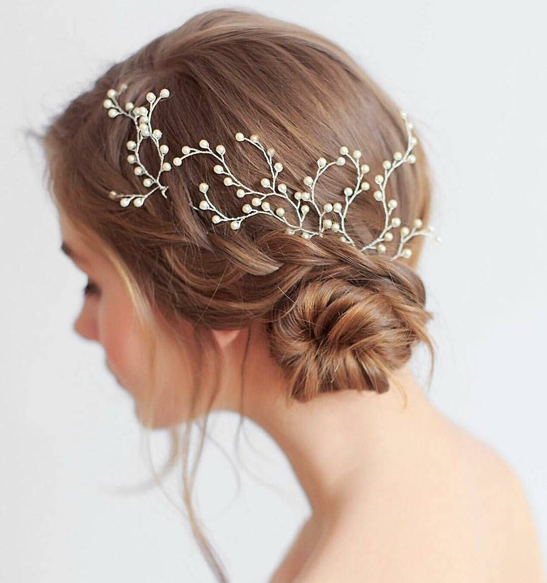 Cute updos work great for a prom night and other formal events