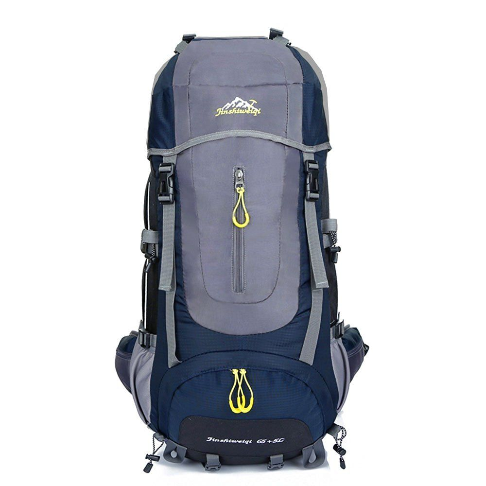 cdeb7a6e42b3 65L 5L High Capacity Internal Frame Backpack Water-resistant Hiking ...
