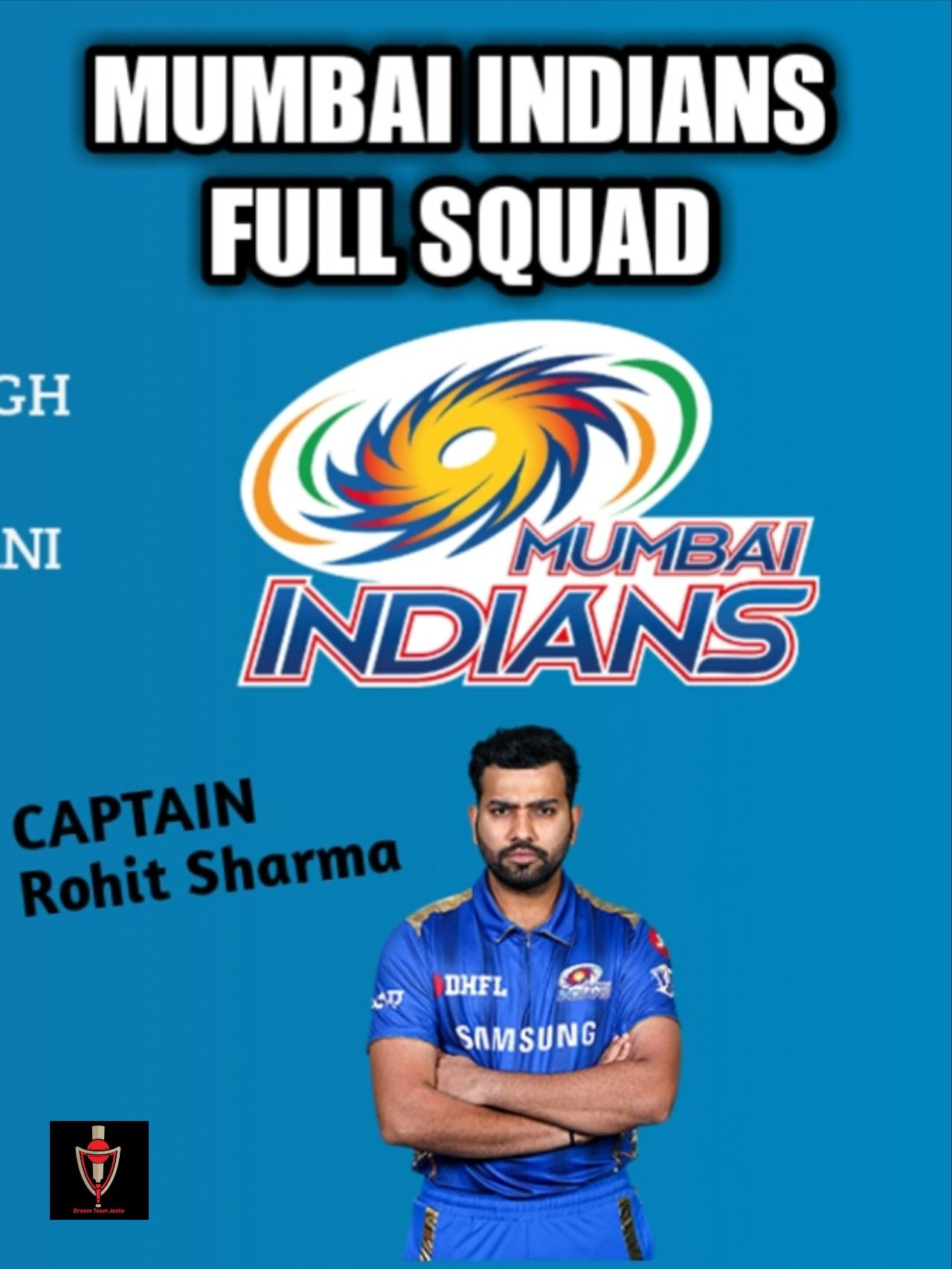 MI 2020 Team Squad Full Mumbai Indians 2020 Players list