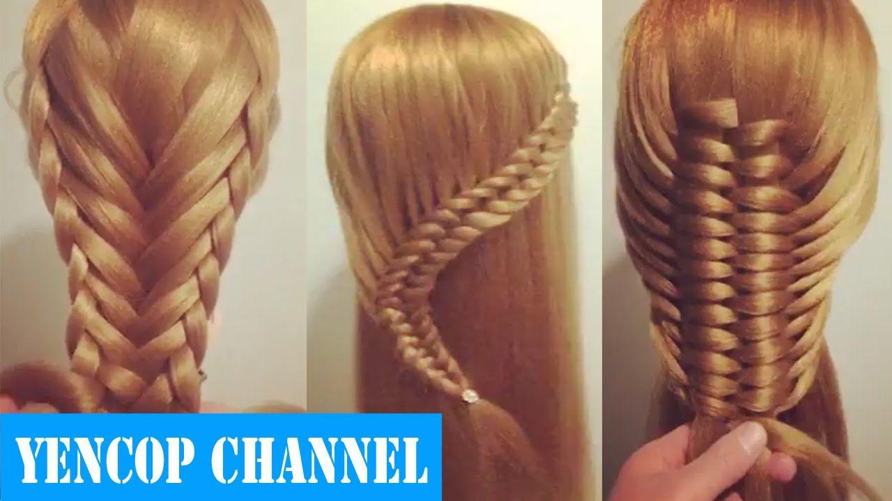 5 Peinados Faciles Y Rapidos Y Bonitos Con Trenzas P2 Pein 5