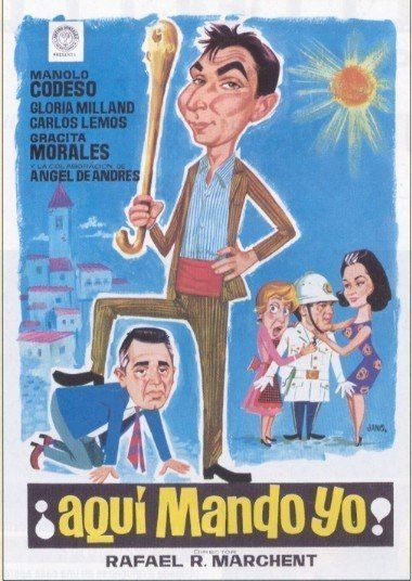 1967 - Aquí Mando Yo - Rafael Romero Marchent