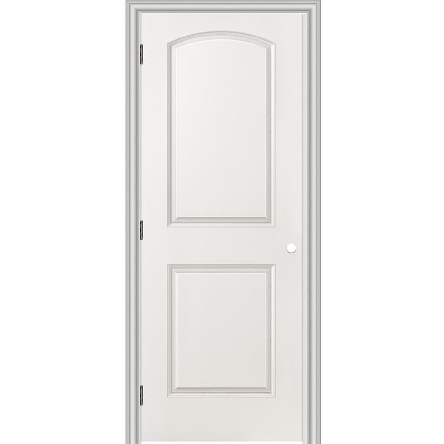 Reliabilt prehung hollow core panel round top interior door common also rh pinterest
