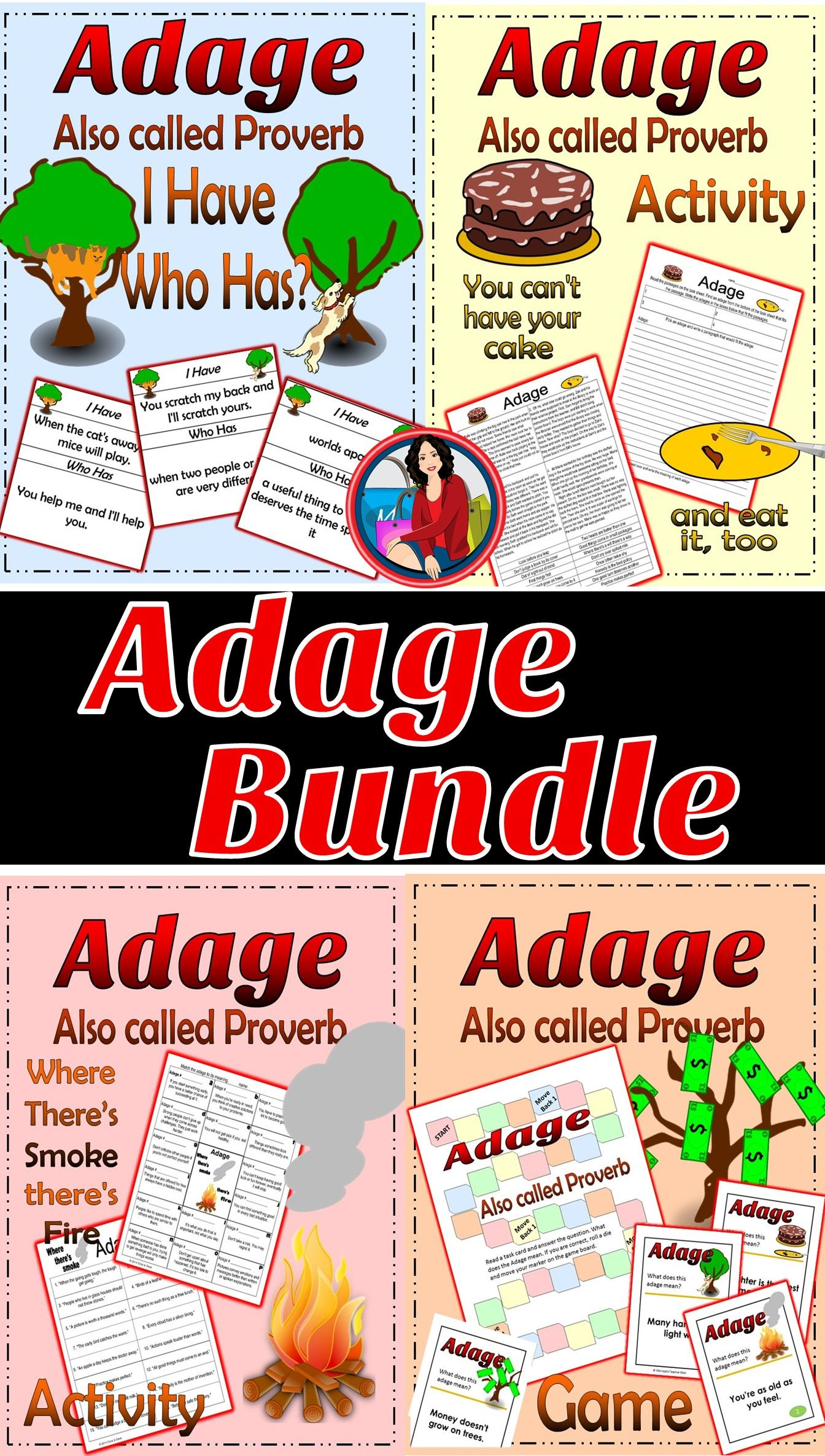 Adage Bundle Activity Writing And Games