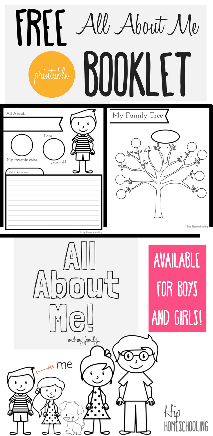 all about me worksheet a printable book for elementary kids - Printable Books For Kids