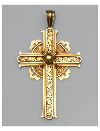 Christian Cross Gold Cross Necklace Charms Pendants Christian Cross Gold Colored Cross Pendant Png Clipart Gold Cross Necklace Cross Necklace Cross Pendant