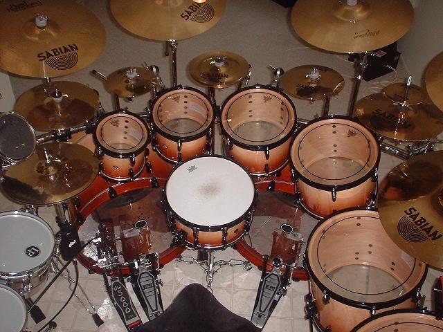 Tama Double Bass Drum Set