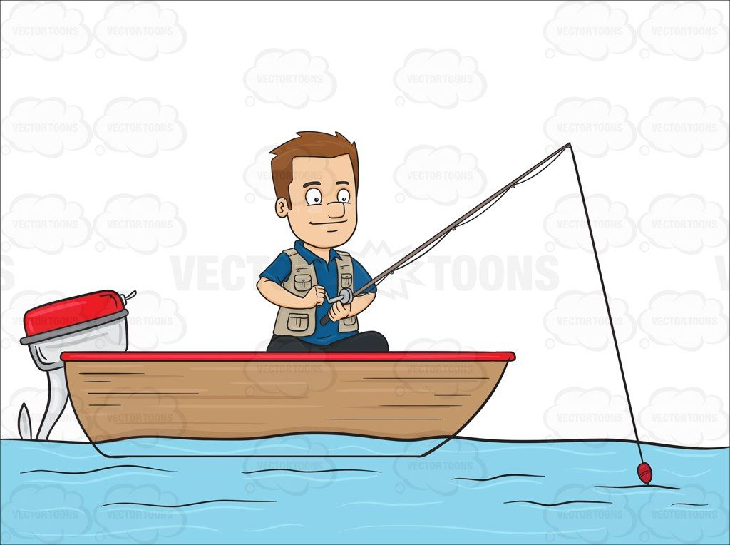 A Man Enjoys His Time In A Motor Boat While Fishing On The Lake #bait #baits #bigfish #bodyofwater #dock #fieldsport #fish #fishhook #fishing #fishingbuddy #fishingforecast #fishinggames #fishinggear #fishingknots #fishingrod #Fishingtackle #floats #gaffs #gear #hook #hooks #individual #lake #lines #lures #male #man #nets #ocean #outdoorsport #person #pier #platform #pleasure #recreation #reels #river #rod #rods #sea #single #sinkers #spears #sport #sportfishing #tacklebox #traps #waders…