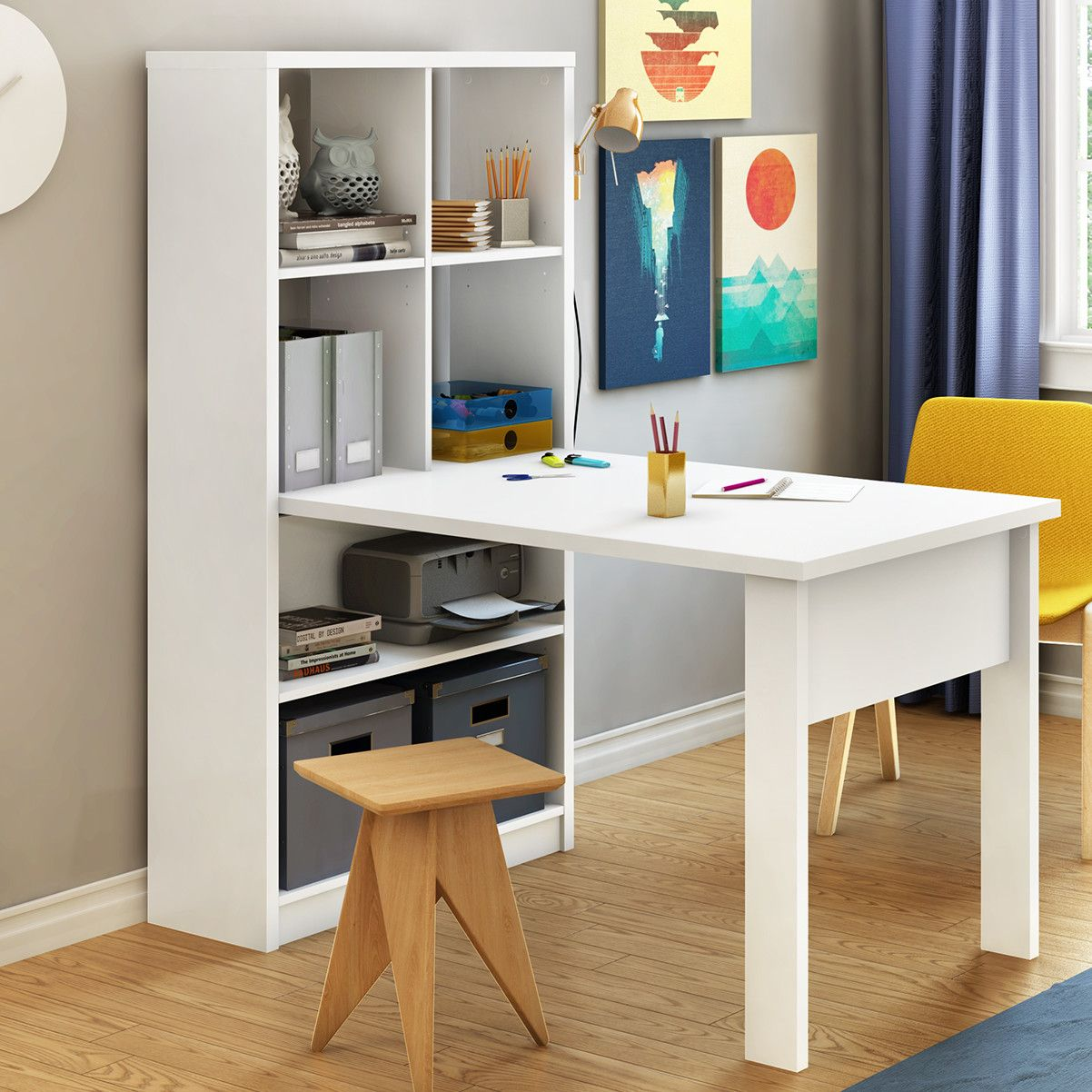 South Shore Annexe Drafting Table Reviews Wayfair Craft Tables With Storage Craft Table Desk Storage