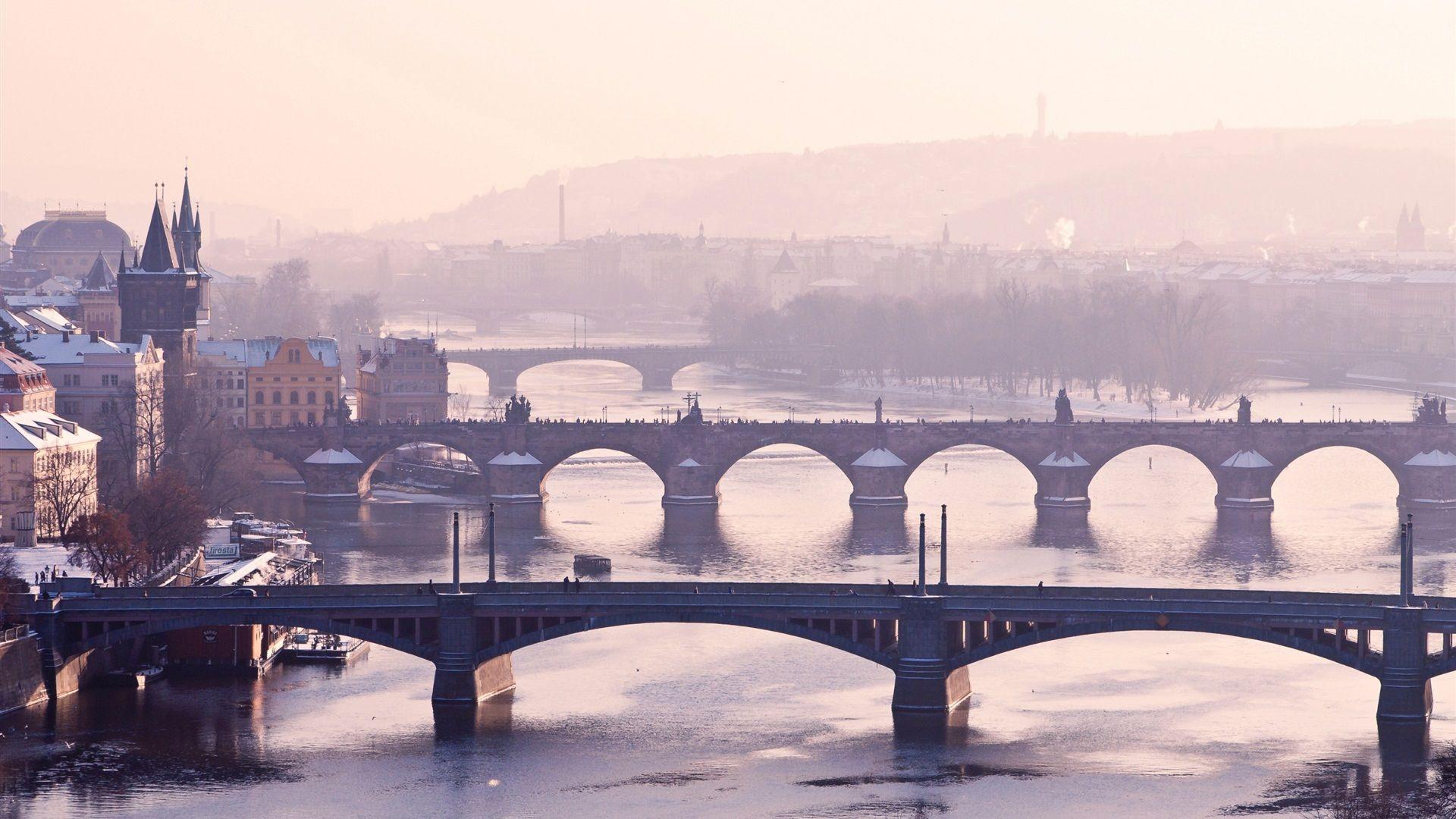 Обои czech republic, prague, чехия, карлов мост. Города foto 14