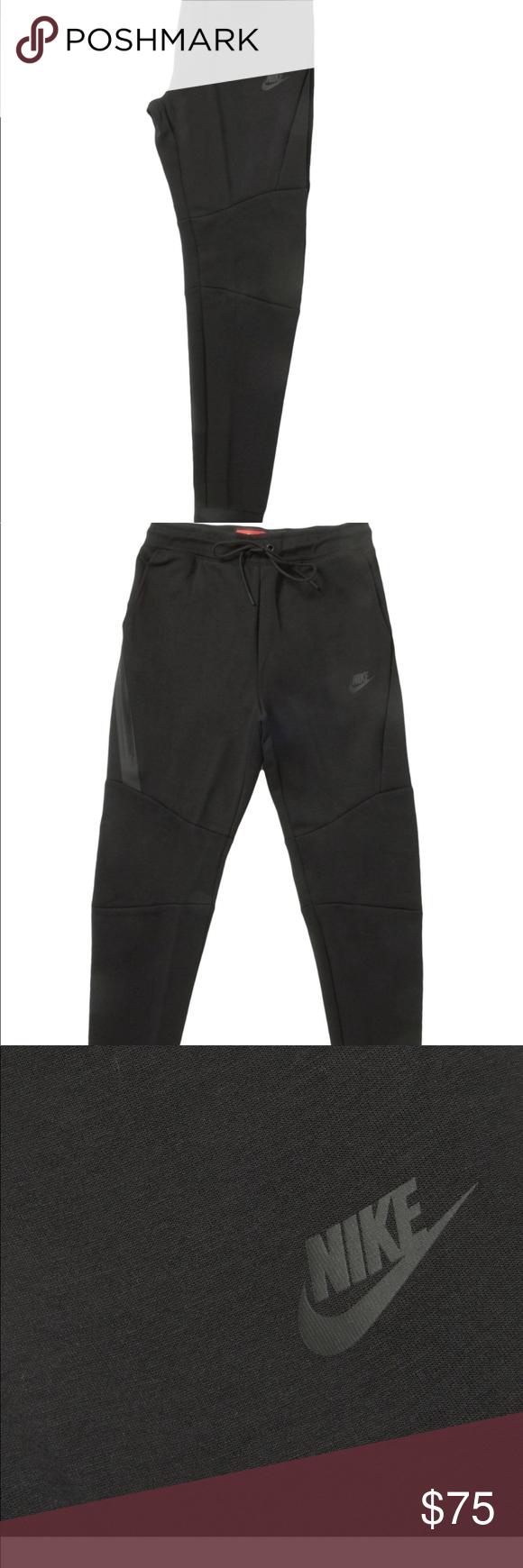 Nike men's tech fleece joggers Brand new black jogger