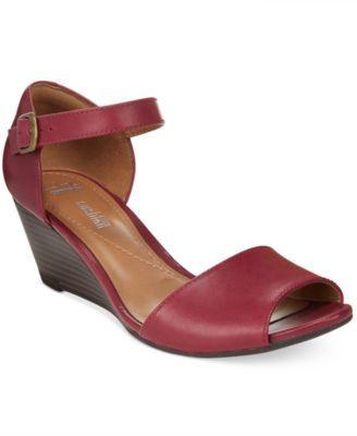 7d1d3726411e 4 16 option Clarks Collection Women s Brielle Drive Wedge Sandals ...