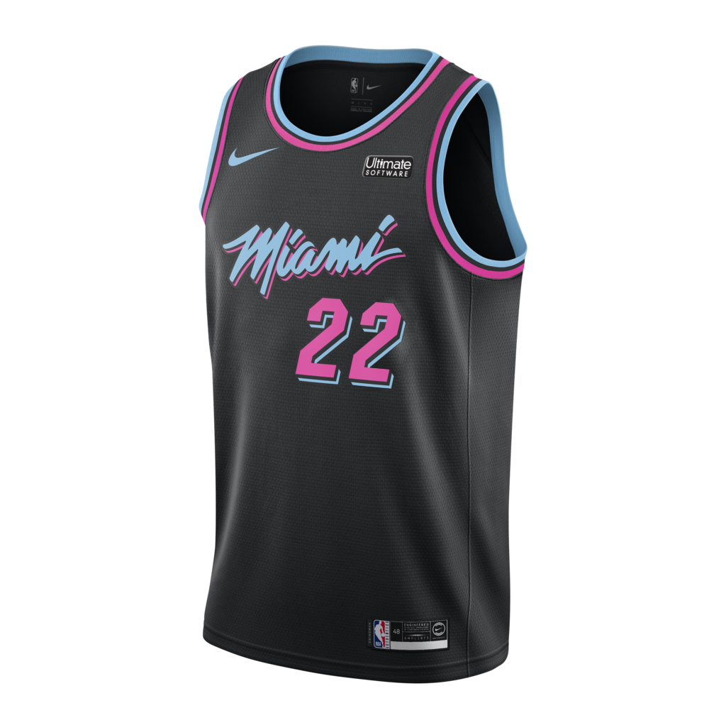 Jimmy Butler Nike Miami Heat Vice Nights Swingman Jersey In 2020 Miami Heat Jimmy Butler Jersey Miami
