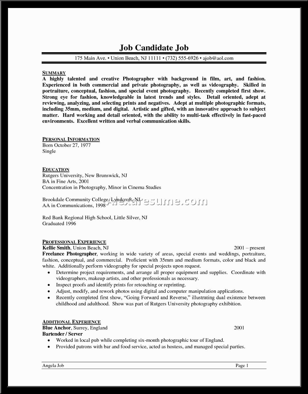 Resume Examples Digpio With Enchanting Sample Professional Resumes