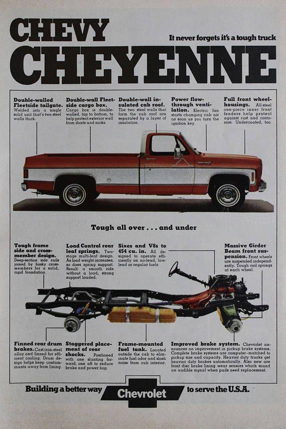 Chevrolet Truck Vintage Ad Chevy Trucks Chevrolet Trucks Chevy