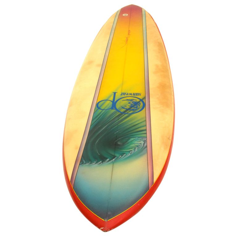 Op Airbrushed Surfboard 1970s Misc In 2019 Surfboard