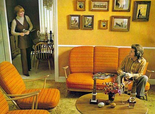 Furniture Set And Living Room 70 S Jaren 70 Huis Inrichting