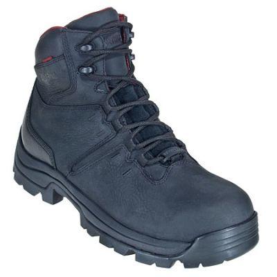 4183af96ef0 Wolverine Boots: Men's 4406 Black Bonaventure Steel Toe EH Boots ...
