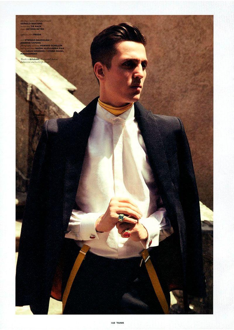 Louis simonon for tank magazine male clothing pinterest style