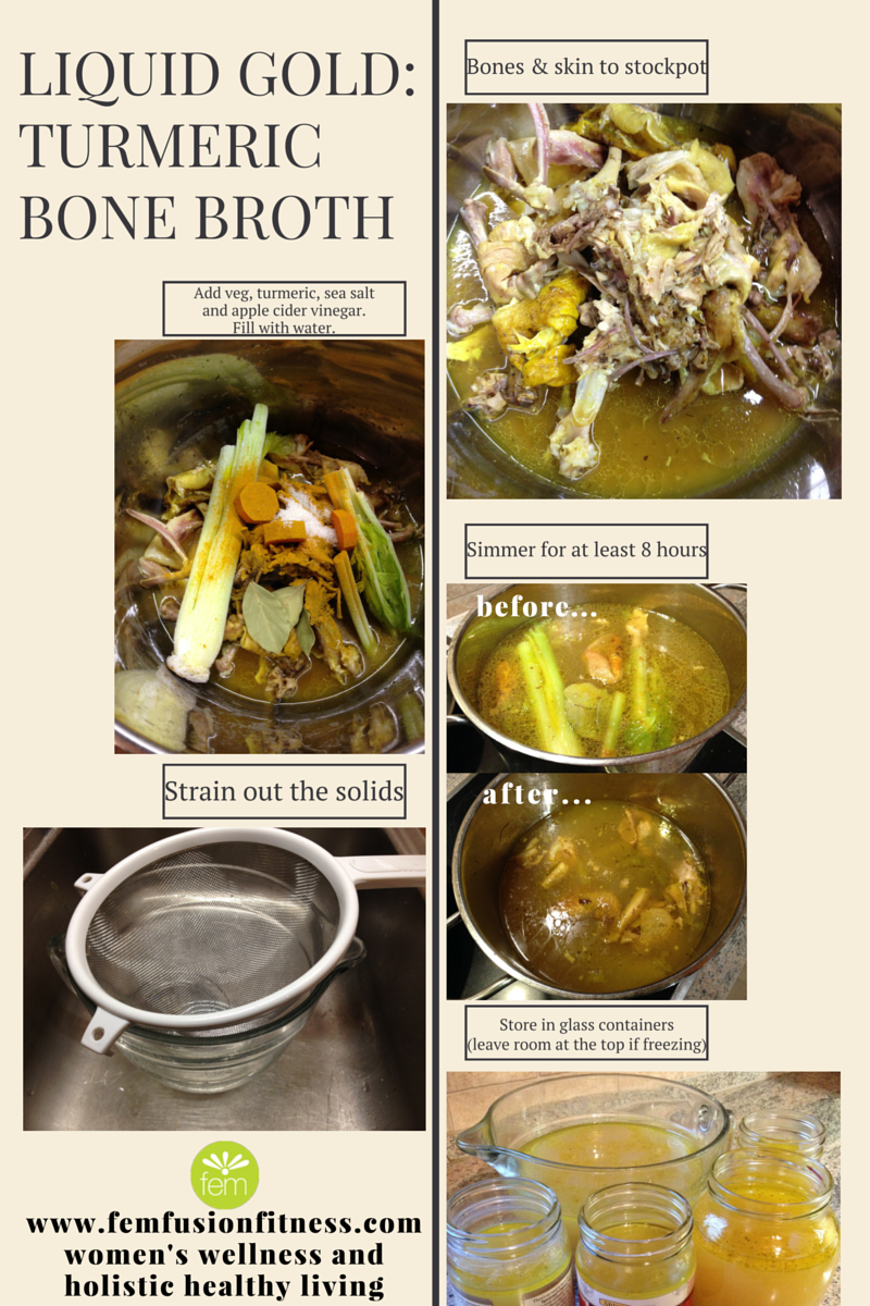 #femfusion #turmeric #fitness #simple #broth #bone #make #tom #kha #gai #how #toTurmeric Bone Broth...