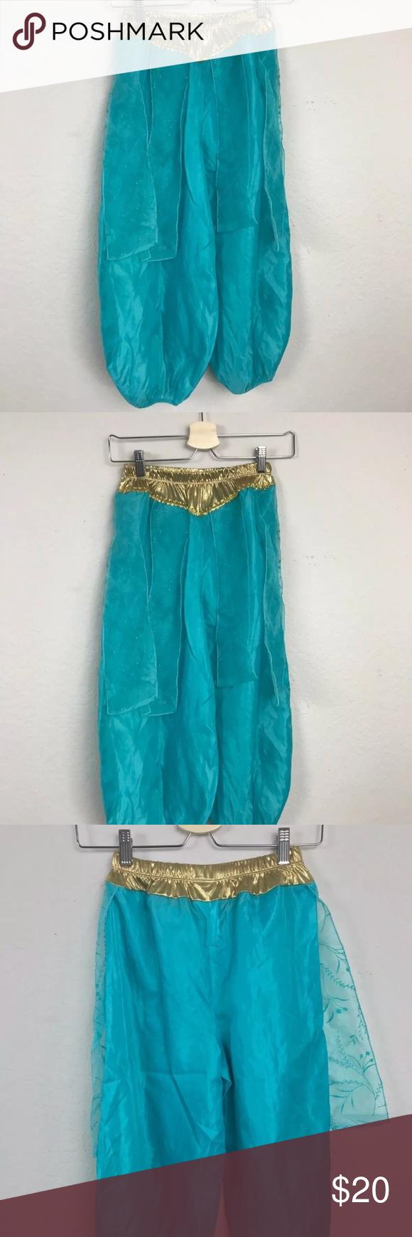 Disney pant costume jasmine aladdin sz m my posh closet