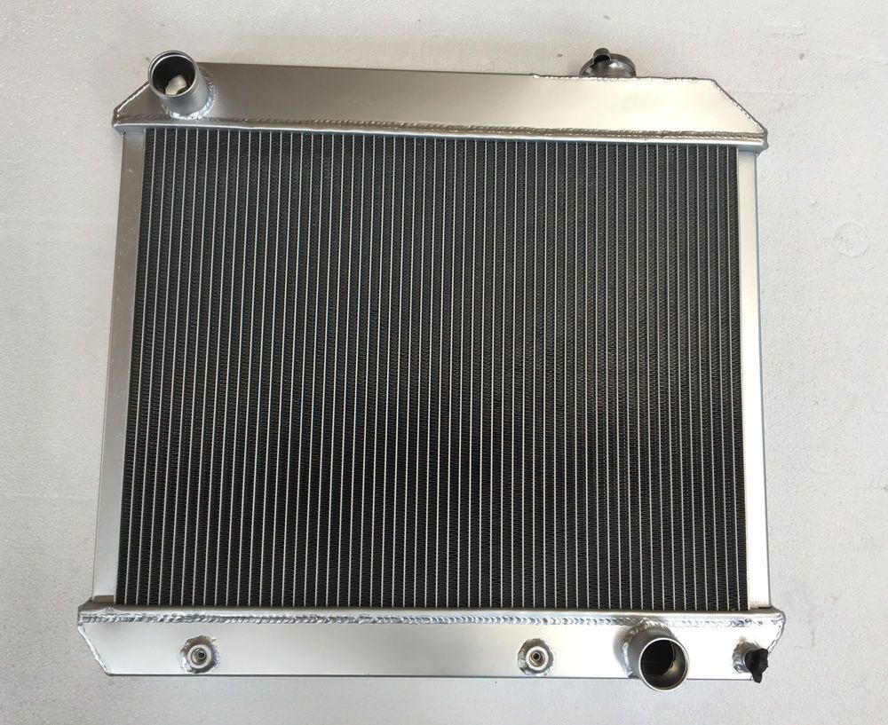 Details About 3 Row Core Aluminum Radiator For Chevy Truck C10 C20