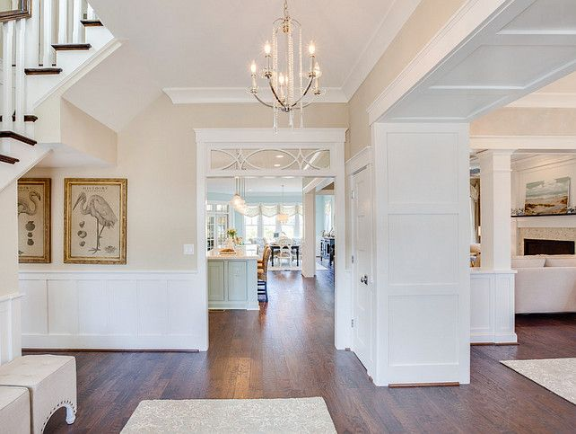 Foyer Paint Colors foyer. neutral foyer paint color. this neutral foyer carries a