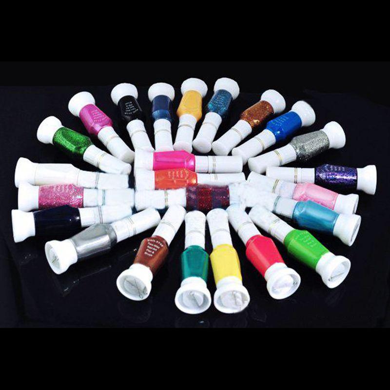 wholesale and free shipping 24 Color DIY Polish Nail Art Pen Brush ...