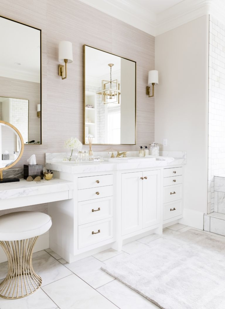 My Master Bath Reveal #bathingbeauties