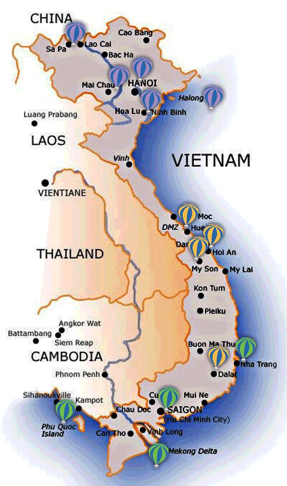 Guia De Vietnam Mapa Images In 2019 Vietnam Map Vietnam