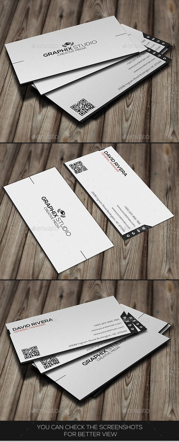 White creative business card pinterest business cards card white creative business card template download httpgraphicriveritemwhite creative business card9978305refksioks colourmoves