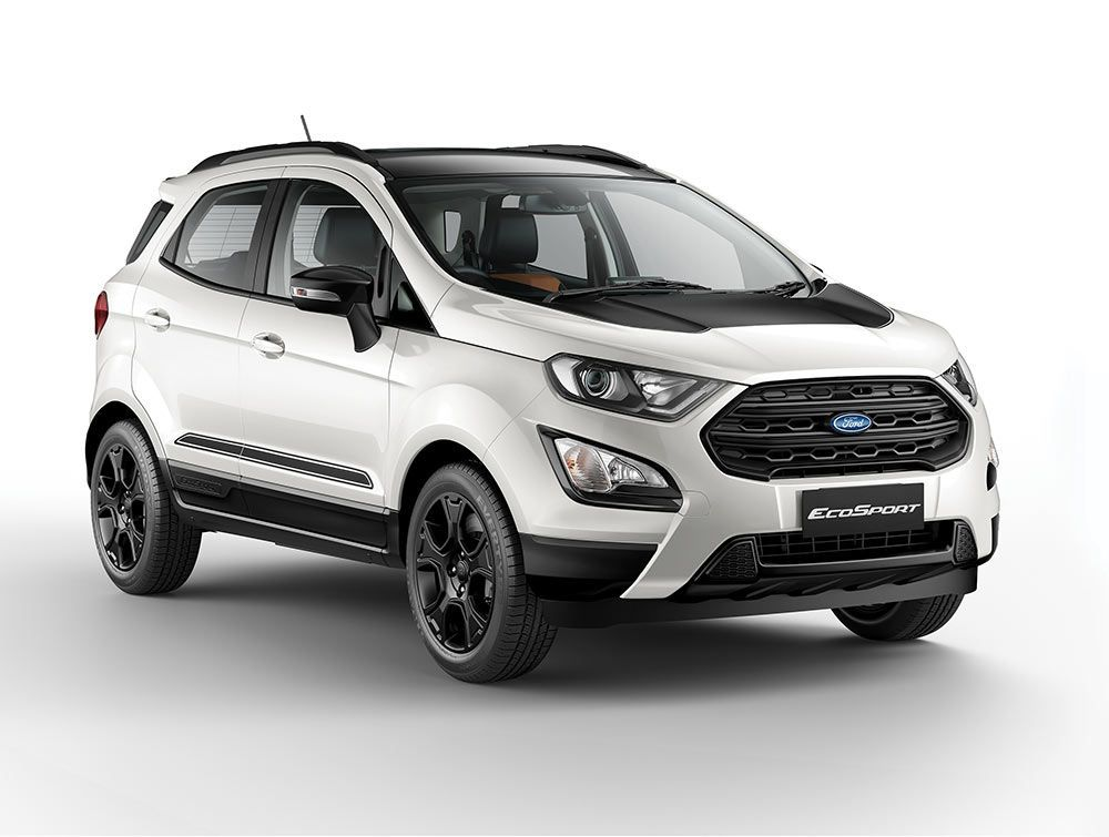 2019 Model Ford Ecosport Thunder Edition Launched With Images