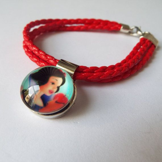 Disneys Snow White Noosa Snap for Snap Jewelry by HopeisHipofMaine