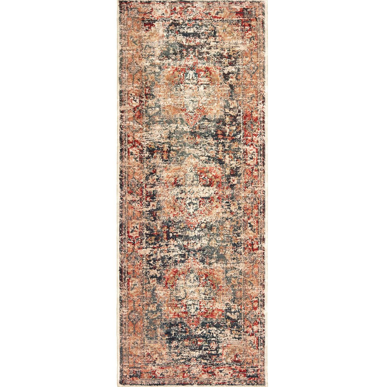 A412 Rochester Multicolor Rug 2 2 X 6 At Home Rugs Clearance Rugs Affordable Rugs [ 1268 x 1268 Pixel ]
